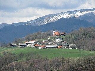 Retje nad Trbovljami Place in Styria, Slovenia