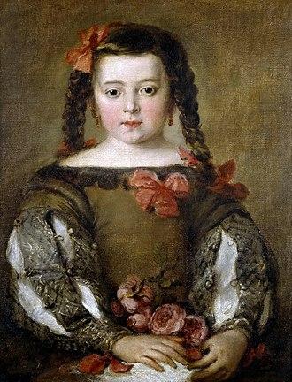 José Claudio Antolinez - Portrait of a Child, oil on canvas (58 x 46 cm), Museo del Prado, Madrid