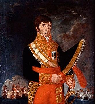 Baltasar Hidalgo de Cisneros - Image: Retrato del teniente general de la Armada Baltasar Hidalgo de Cisneros (1756 1829) Anónimo
