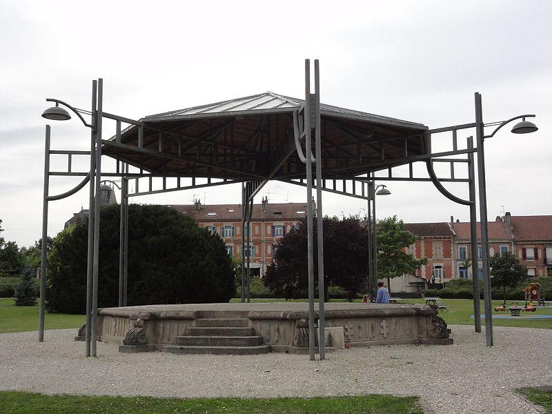 Revigny-sur-Ornain (Meuse) kiosque à musique
