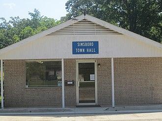 Simsboro, Louisiana - Simsboro Town Hall