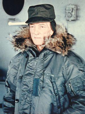 Operation Deep Freeze - Admiral Richard Byrd on board USS ''Wyandot'' (Dec 1955)