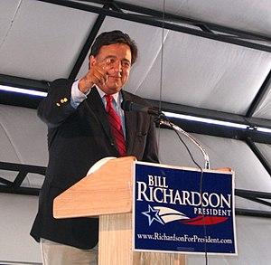 Bill Richardson - Richardson campaigning in Elko, Nevada; July 2007