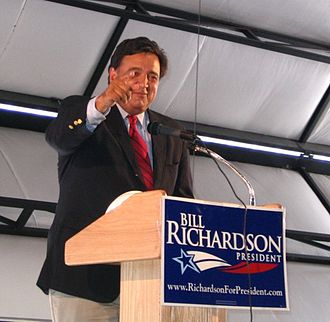Bill Richardson 2008 presidential campaign - Richardson campaigning in Elko, Nevada, July 2007