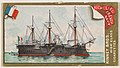 Richelieu, French Navy, from the Naval Vessels of the World series (N226) issued by Kinney Bros. MET DPB874595.jpg