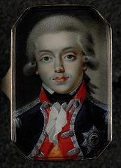 Ring met portret van Willem George Frederik, prins van Oranje-Nassau