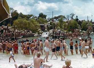 Disney's River Country - River Country in 1977.