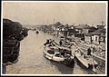 River Ferry and Boat in the river of Japan - River Scene (1915 by Elstner Hilton).jpg