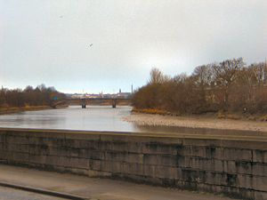 Penwortham -  River Ribble from Penwortham Bridge