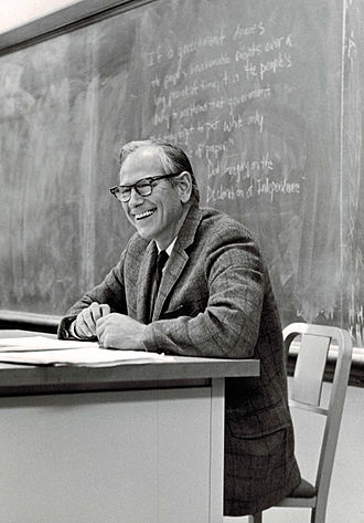 Johan Skytte Prize in Political Science - Image: Robert A. Dahl in the Classroom