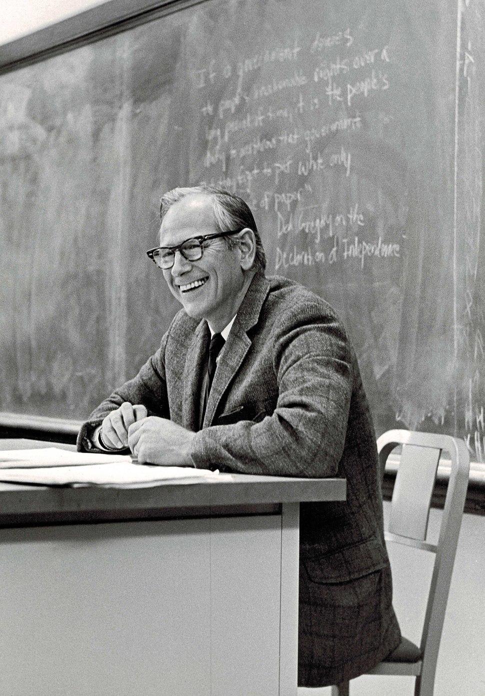 Robert A. Dahl in the Classroom