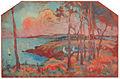 Robert Antoine Pinchon, 1934, Vue de l'Ile de Bréhat, oil on panel, 79 x 120 cm.jpg