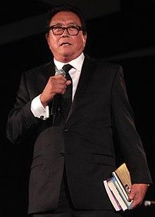 Kiyosaki in 2014.