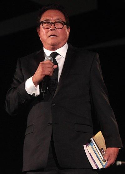 Robert Kiyosaki, American finance author and investor
