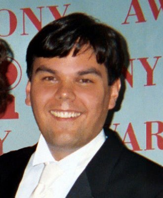 Robert Lopez - Lopez receiving his Tony Award in 2004