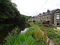 Rochdale Canal - Canal-side houses (geograph 5865154).jpg