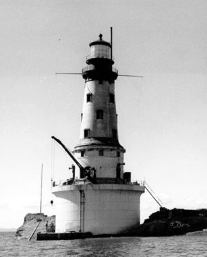 Rock of Ages Light - Undated United States Coast Guard photo