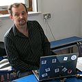 Roger Bamkin, WMUK board meeting, August 2011.jpg