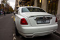 Rolls-Royce Ghost, Avenue George V, Paris 2014.jpg