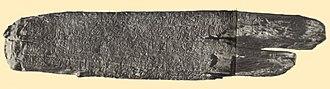 Rongorongo text N - Image: Rongorongo N b Small Vienna