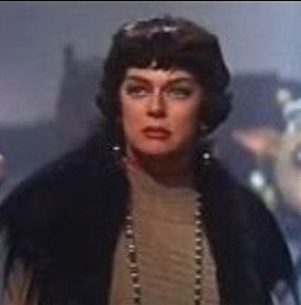 """Gypsy (1962 film) - Rosalind Russell as """"Mama Rose"""" Hovick"""