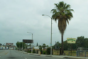 Rosemead, California - Valley Boulevard in Rosemead