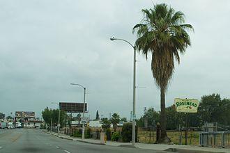 Rosemead, California - Valley Boulevard in Rosemead