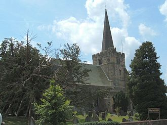 Rotherfield - Church of St Denys