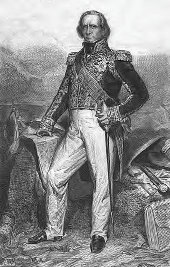 A corps commander during the campaigns of 1805-1807, Soult is best known for the prominent part he played in the Peninsular War in Spain and Portugal. Rouillard and Demare-Jean-de-Dieu Soult.jpg