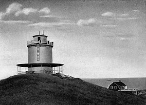 WMAF (defunct) - Image: Round Hill public address system (1923)
