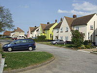 Row of houses in Hillborough, Kent.jpg
