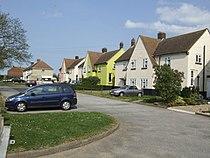 Row of houses in Hillborough, Kent.jpg
