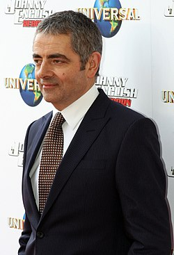 Atkinson på premiären av Johnny English Reborn, 2011