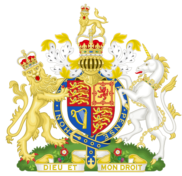 File:Royal Coat of Arms of the United Kingdom.svg