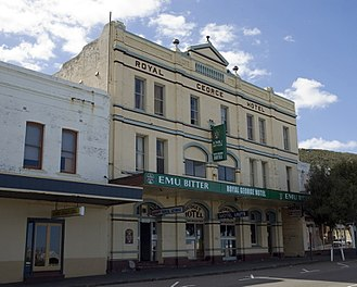 Stirling Terrace, Albany - Royal George Hotel in 2006