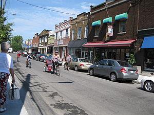 Sainte-Anne-de-Bellevue, Quebec - Sainte-Anne Street