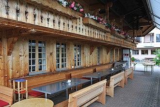 Walkringen - Restaurant in the settlement of Rüttihubelbad