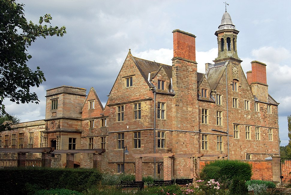 Rufford Hall from SW