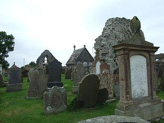 Movilla Abbey - Image: Ruins Of Movilla Abbey