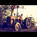 Rural Life Farming in India Tractor Agriculture Tamil Nadu 2013.jpg