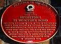 Russettings heritage sign, SUTTON, Surrey, Greater London.jpg