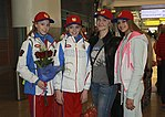 Russian rhythmic gymnasts 2015 EC Minsk.jpg