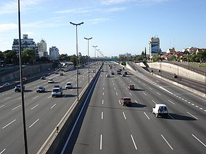 National Route 9 (Argentina) - Highway 9 leading north from Buenos Aires.