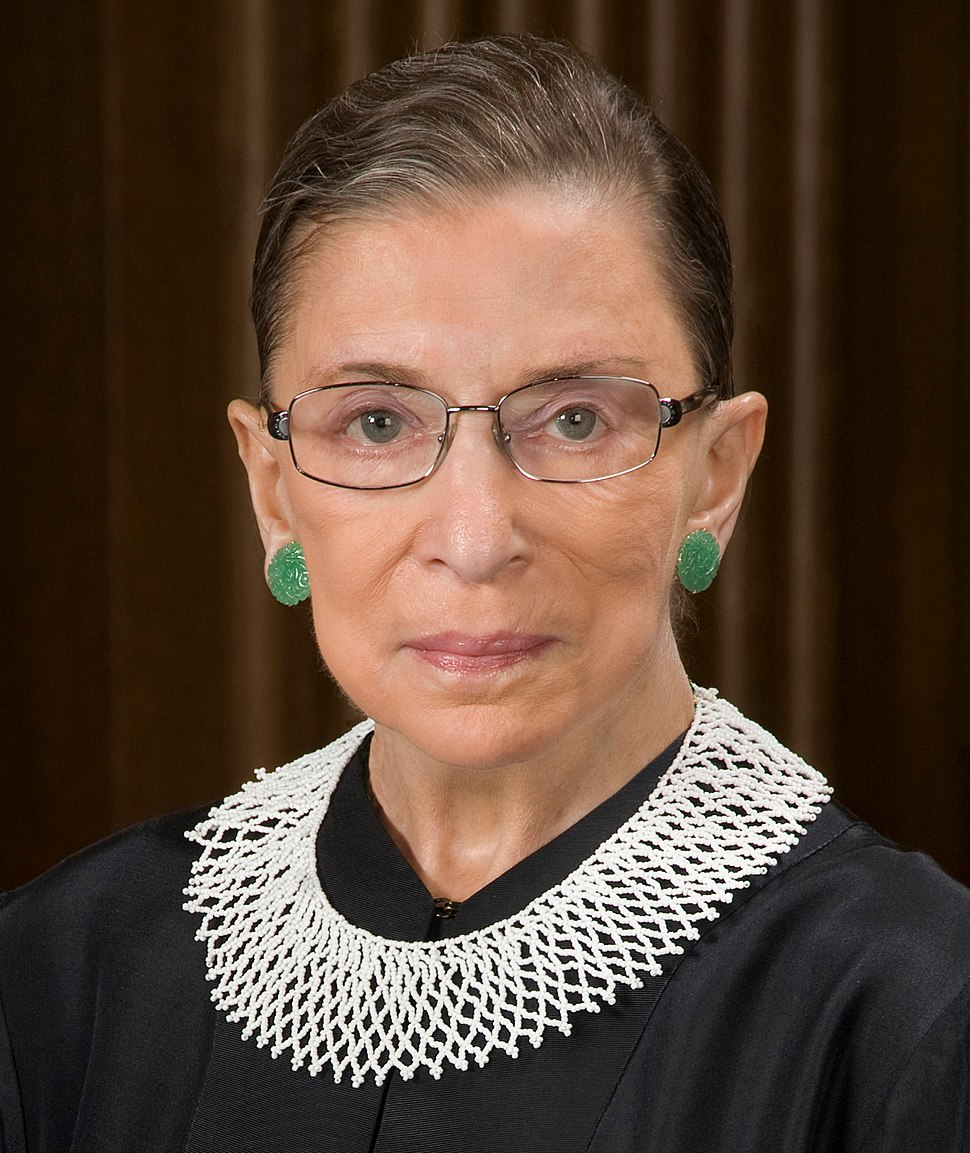 Ruth Bader Ginsburg official SCOTUS portrait (cropped)