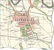 Map of Rutherglen in 1923