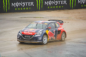 2016 World RX of Portugal - Sébastien Loeb made his début for Team Peugeot-Hansen