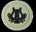SANDF Qualification SACB Musician badge embossed.png