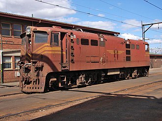 South African Class 5E1, Series 4 - Image: SAR Class 5E1 Series 4 E888