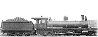 South African Class 6Y 2-6-2 - Image: SAR Class 6Y 711 (2 6 2)