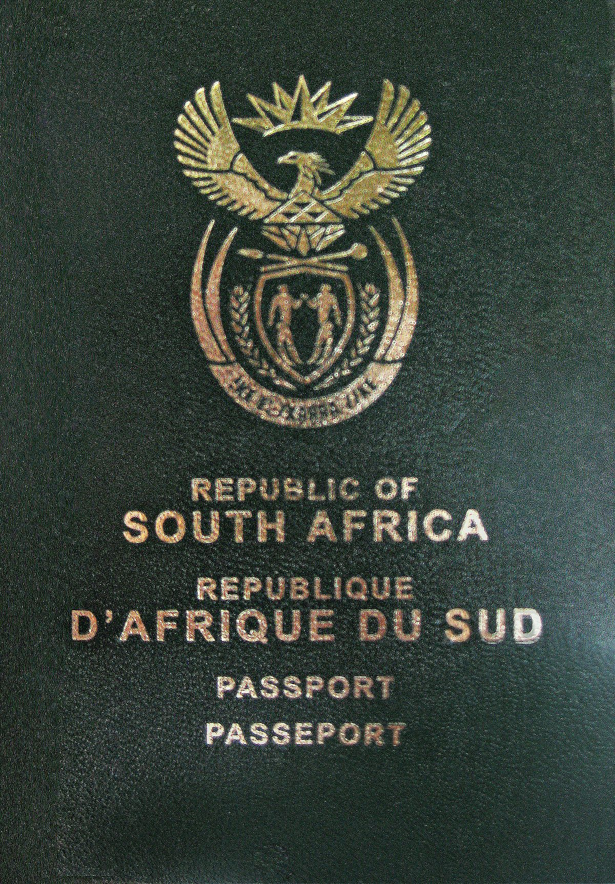 Visa Requirements For South African Citizens Wikipedia